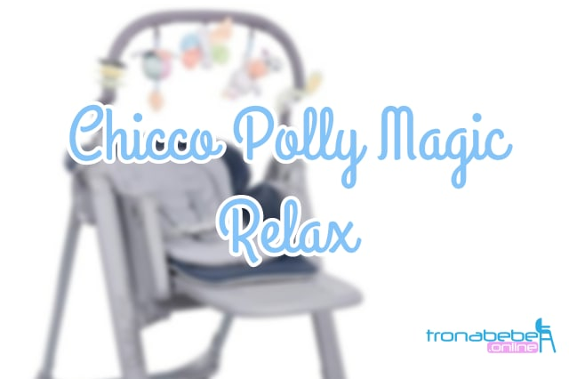 trona chicco polly magic relax